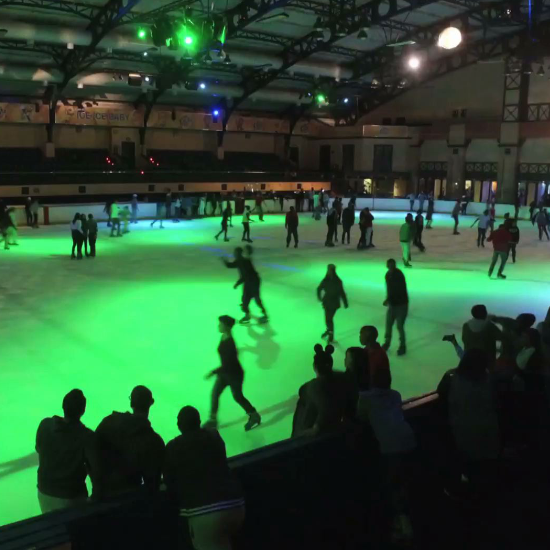 grand west casino ice skating cape town